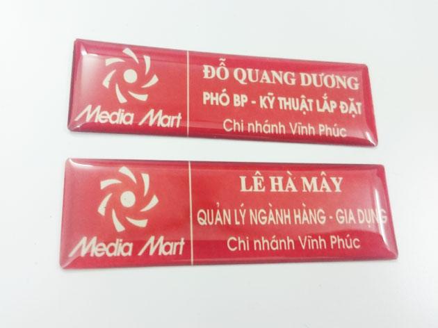 thẻ nhân viên mediamart