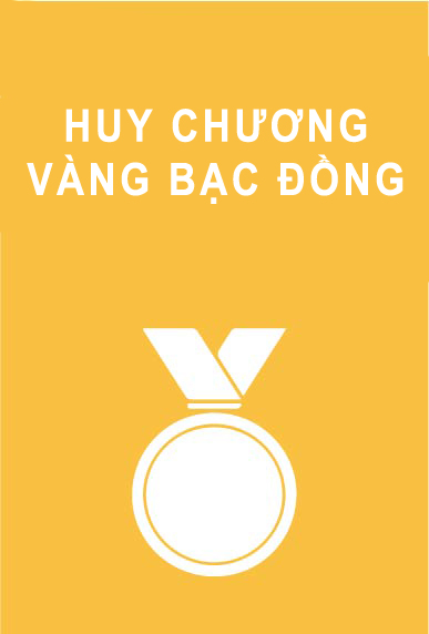 huy chuong vang bac dong