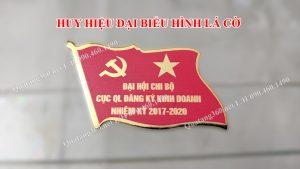 Huy hiệu đại biểu hình lá cờ
