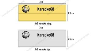 làm thẻ nhân viên quán karaoke