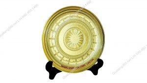 đĩa đồng đúc khuôn hoa văn trống đồng